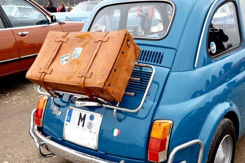 fiat 500 koffer